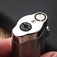 cigar lighter flame adjustment