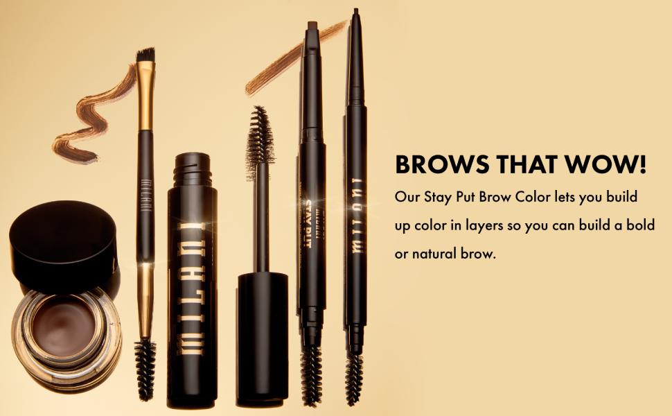 eyebrow color, brow color, eyebrow pencil