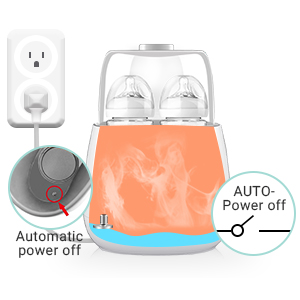 Double Bottle Baby Food Heater