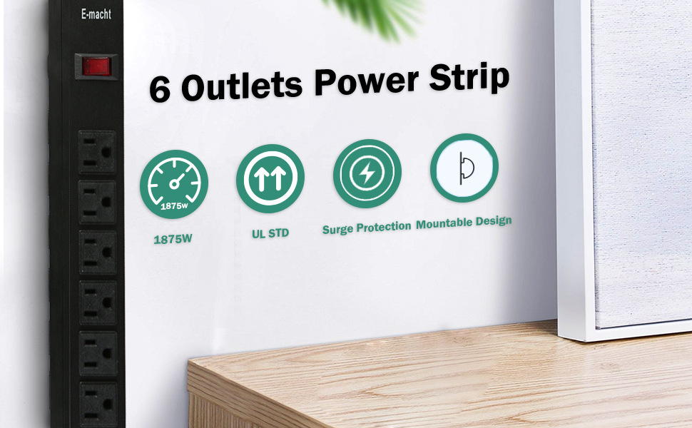 6 Outlets