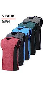mens muscle training tanks