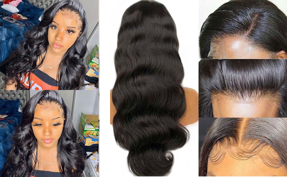 13x4 lace front wigs human hair