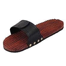 foot massager wooden roller body stress foot massager with hand foot massage roller wooden