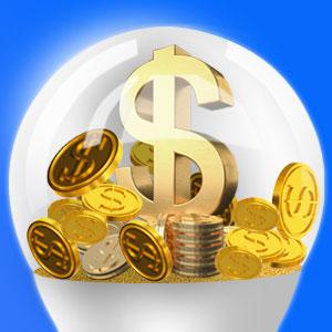 save money bulb
