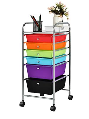 drawer cart 6 drawers