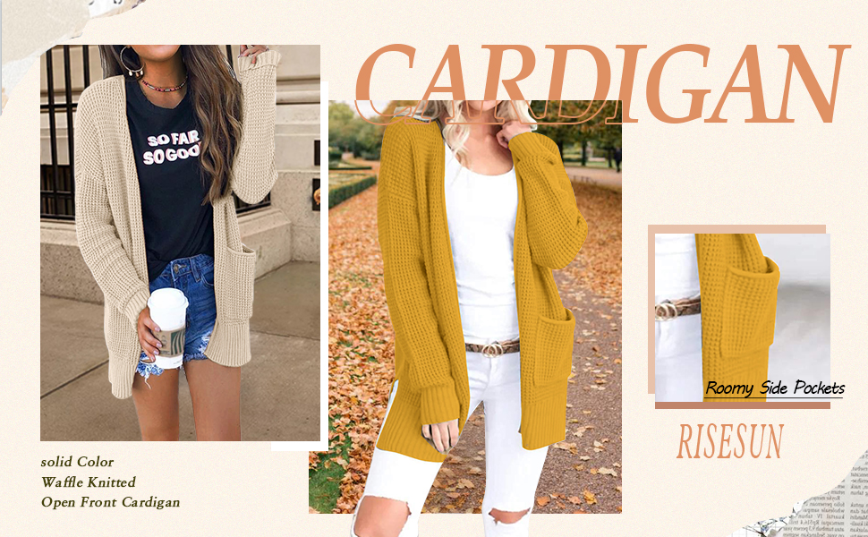 Ladies Fashion Sweater Cardigan