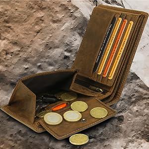 vo19 fa.volmer geldbörse echtleder