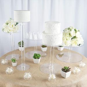Elegant 5 tiers cake stand set
