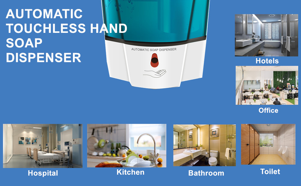 Automatic Touchless Soap Dispenser Wall Mount Commercial Soap Dispenser
