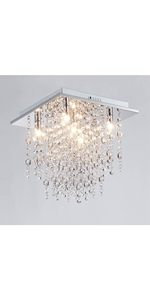 Saint mossi crystal chandelier lighting modern room light ceiling LED