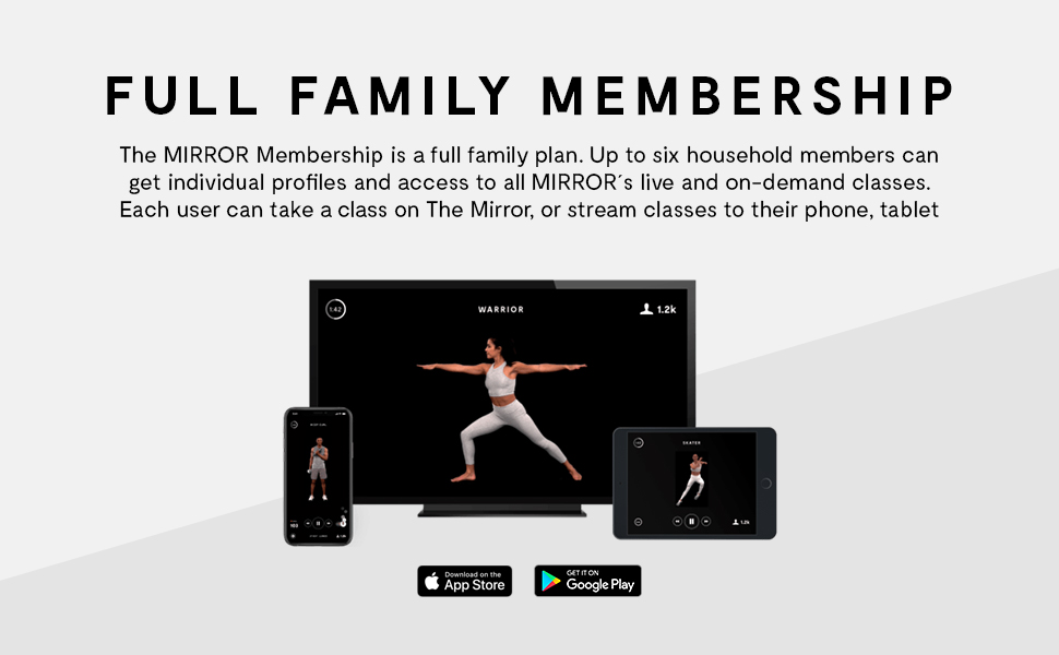 the mirror workout fitness system home workout workout mirror echelon peloton home gym