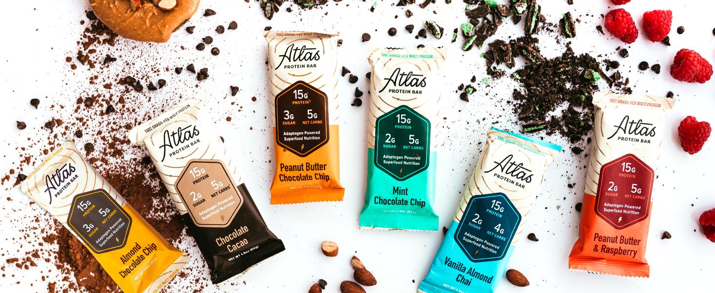 Altas Bars - Adaptogen Powered Superfood Nutrition
