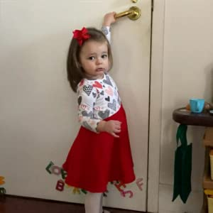 Baby Girl Valentines Dress