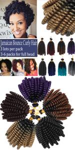 Jamaican Bouncy Crochet Hair