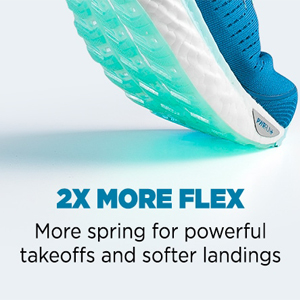 saucony triumph 17 two times more flexible, more spring for powerful takeoffs and softer landings
