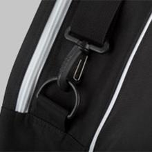 Adjustable shoulder strap amp; side handle