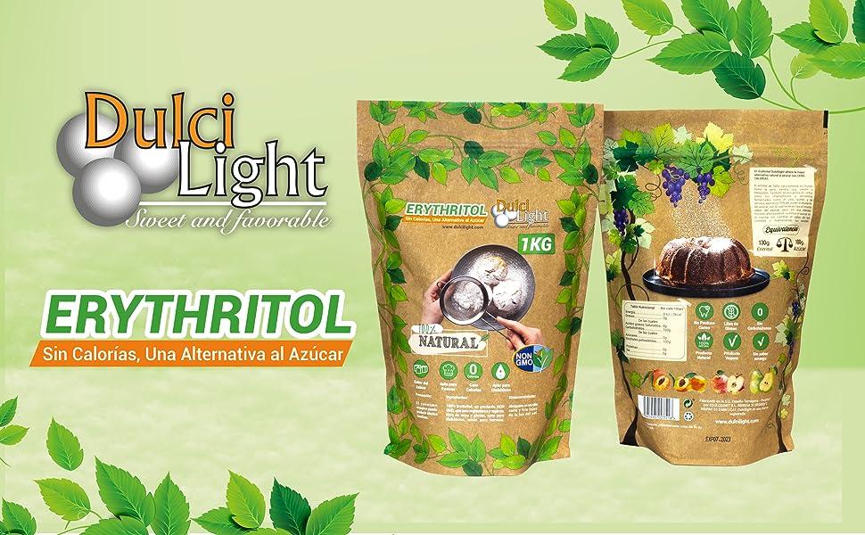 dulcilight edulcorante eritritol