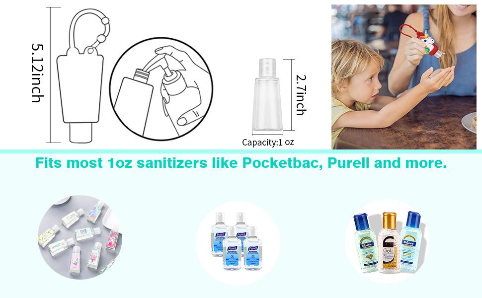 30 ml hand sanitizer holders