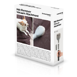 Innovagoods - Cepillo de Pelo para aspiradora, Color Blanco: Amazon.es: Hogar