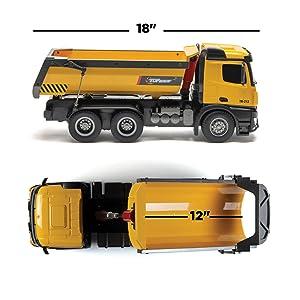 dump truck construction toys