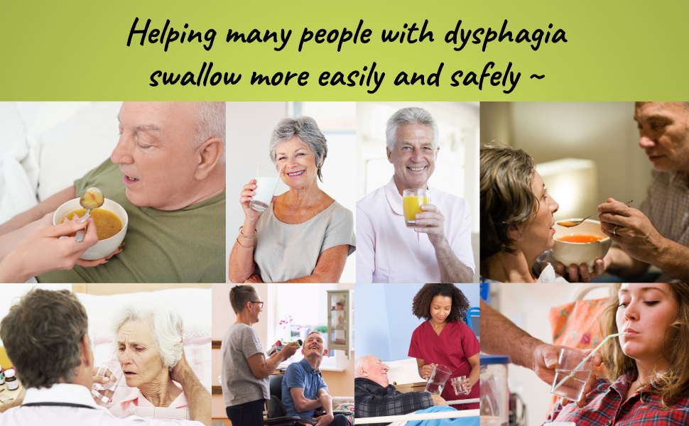 Helping many with dysphagia, swallow more easily and safely