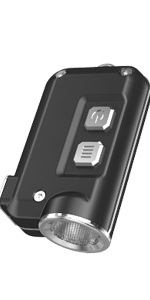 nitecore, nitecore tube, tubev2, tube v2, tube 2, flashlight, keychain, key chain, edc