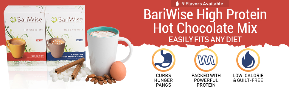 bariwise high protein hot chocolate mix