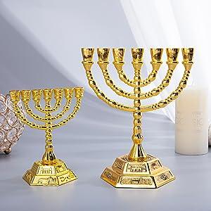 Hanukkah Menorah 2002