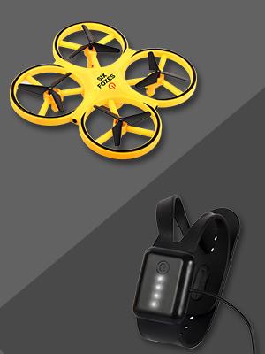 drone and remote