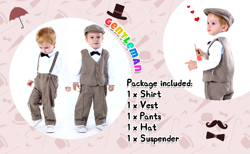 Baby Gentleman Outfits