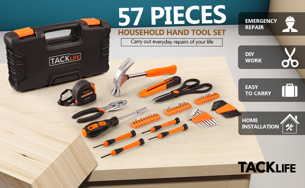 57pc Home Tool Kit