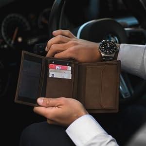 DONBOLSO kreditkartenetui wien slim mini klein geldbörse brieftasche