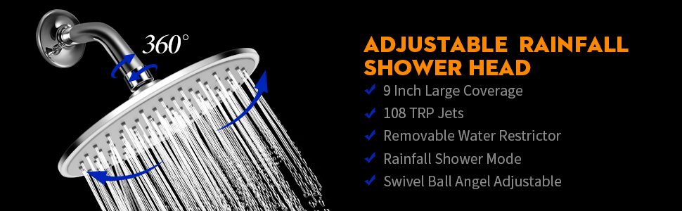 rain shower head extension,ran shower head,rainshower shower head,rain shower head chrome,showerhead