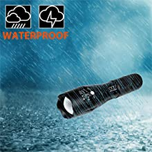 Tactical led flashlight tact handheld brightest light camping everyday use hurricane outages