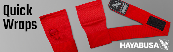 Image of Red Quick Hand wrap glove