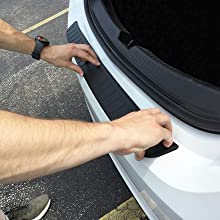 Image Showing How To Test Fit The Bumper Cover Prior To Full Installation