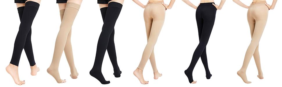 Compression Pantyhose Stockings
