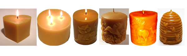 Church candles 12-15 Large Beeswax candles for church and home high quality