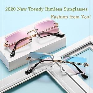 frameless glasses