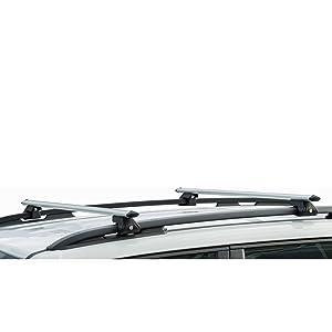 Vdp Alu Relingträger Crv 120 Kompatibel Skoda Fabia Iii Kombi Ab 2015 Abschliessbarer Grundträger Auto