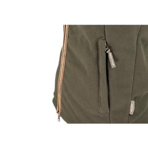 Zipped side pockets