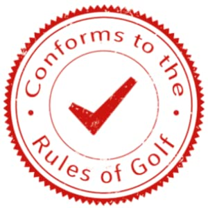 Conforms to the rules of golf