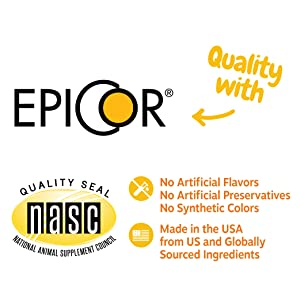 NASC quality seal, branded ingredients, made in USA