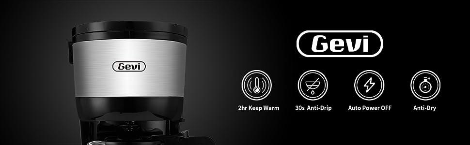 Gevi 4 Cups Coffee makers