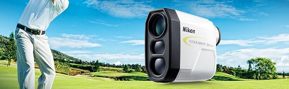 Nikon COOLSHOT 20i GII Laser Golf Rangefinder