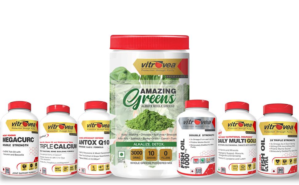 Vitrovea, immunity, Amazing Greens