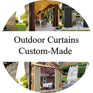outdoor curtain custom