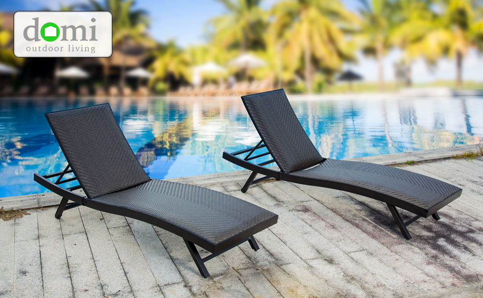 patio chaise chairs set of 2
