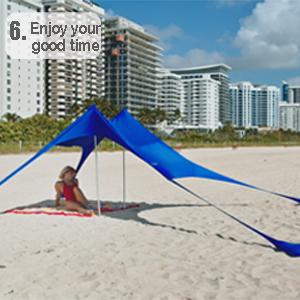 lightweight canopy tent portable beach shelter neso tent poles windproof beach umbrella ziggy shade