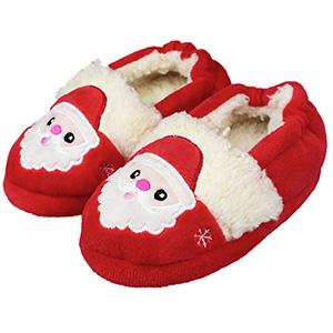 ChicPro Toddler Girls Bunny Slippers Shoes Kids Cute Soft Plush Non-Slip House Slipper